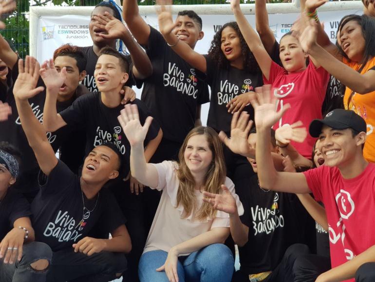 La Fundación Tecnoglass vincula 150 jóvenes al proyecto Vive Bailando: La Fundación Tecnoglass vincula 150 jóvenes al proyecto Vive Bailando