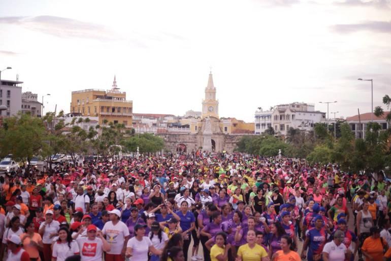 Cartagena celebró Día mundial de la actividad física y la salud: Cartagena celebró Día mundial de la actividad física y la salud