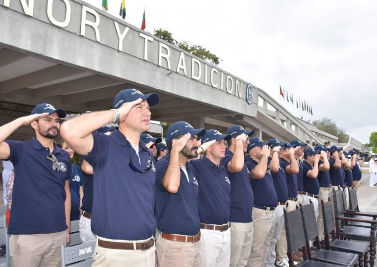 Contingentes celebran 25 años de ingreso a la Escuela Naval de Cadetes: Contingentes celebran 25 años de ingreso a la Escuela Naval de Cadetes