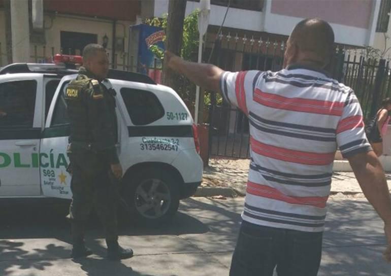 Detenido en Cartagena por intento de homicidio a agentes de tránsito: Detenido en Cartagena por intento de homicidio a agentes de tránsito