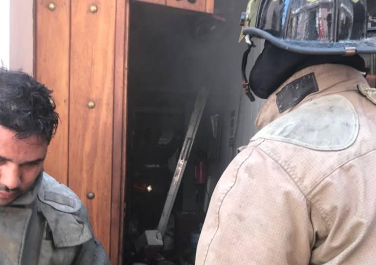 Incendio en hotel del Centro Histórico de Cartagena: Incendio en hotel del Centro Histórico de Cartagena