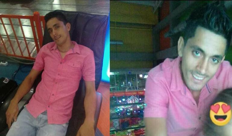 Johan Salazar de 24 años