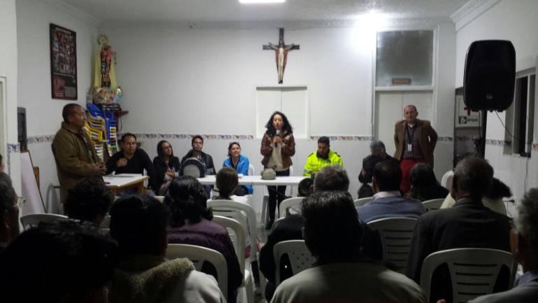 Alcaldesa Local Mayda Velásquez Rueda