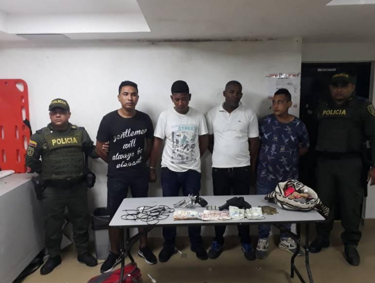 Intentaron disimular atraco saludando a Policías en Barranquilla