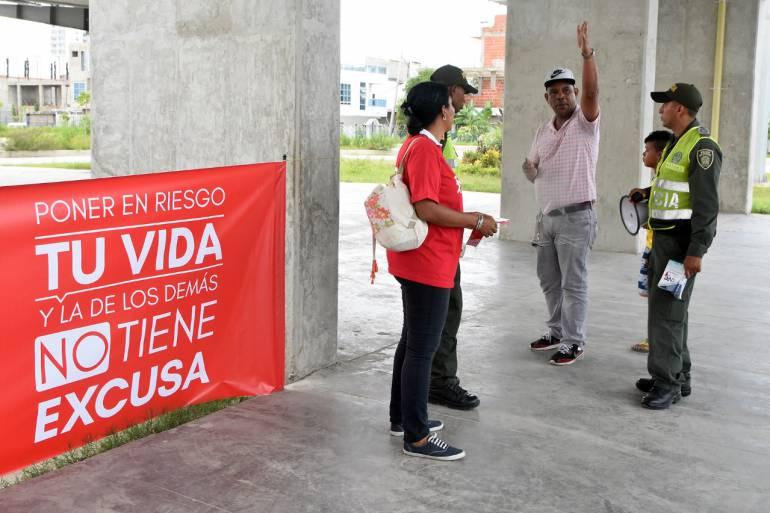Accidente Transcaribe Cartagena: Transcaribe lamentó accidente en el que resultó herido ciudadano venezolano