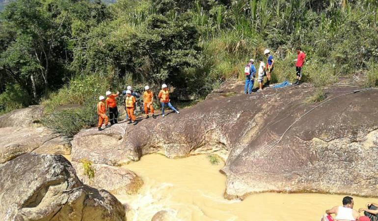 Temporada de Lluvias: Monitorean río entre Tolima y Huila por aumento de las lluvias