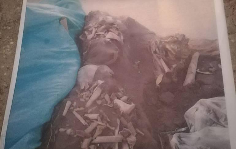 Fiscalía inspecciona restos óseos hallados en Barranquilla