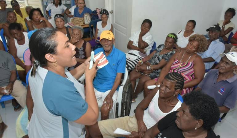 Adulto mayor, atención integral Bolívar: Más de 60 adultos mayores beneficiados con Jornada de Atención Integral
