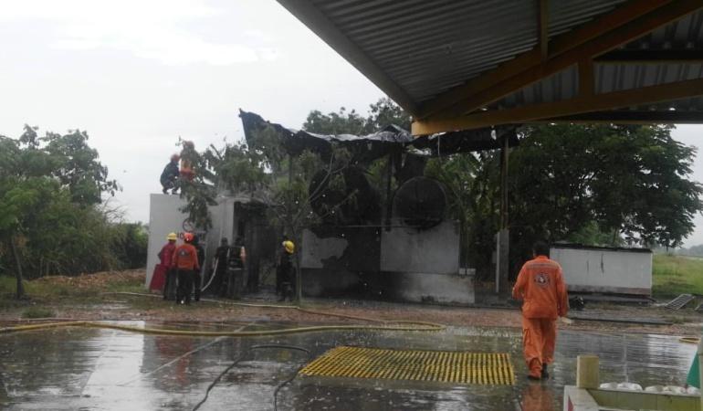 Explosión en Espinal, Tolima