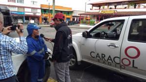 Mauricio Arenas auxiliar de recolección de aseo de la empresa Multipropósito de Calarcá