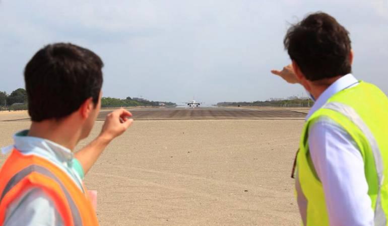 Aeropuerto de Cartagena: Aeropuerto Rafael Nuñez en Cartagena listo para certificación internacional