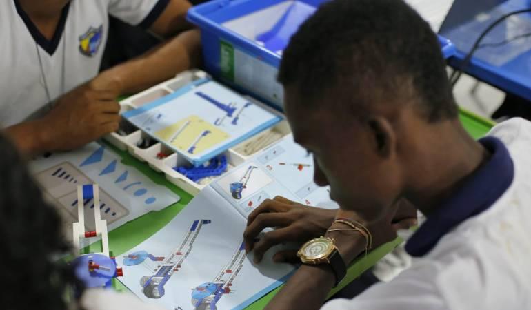 Ambiente Lego en instituciones distritales de Cartagena, educación: Ambientes de aprendizaje Lego, llegan a instituciones de Cartagena