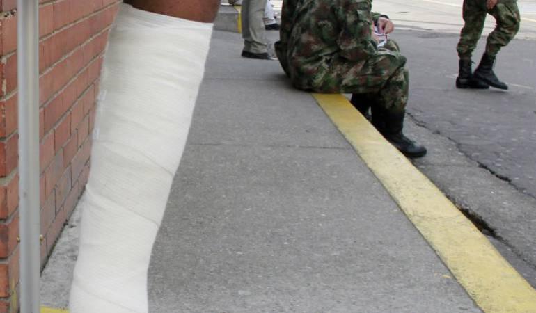 Un infante de marina herido en Chocó tras pisar mina-antipersonal