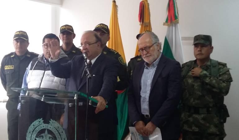 Ministro de Defensa, Luís Carlos Villegas