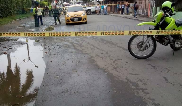 Asesinado taxista: Asesinado taxista en el oriente de Cali