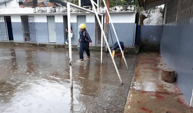 Lluvias causan emergencias en Ibagué