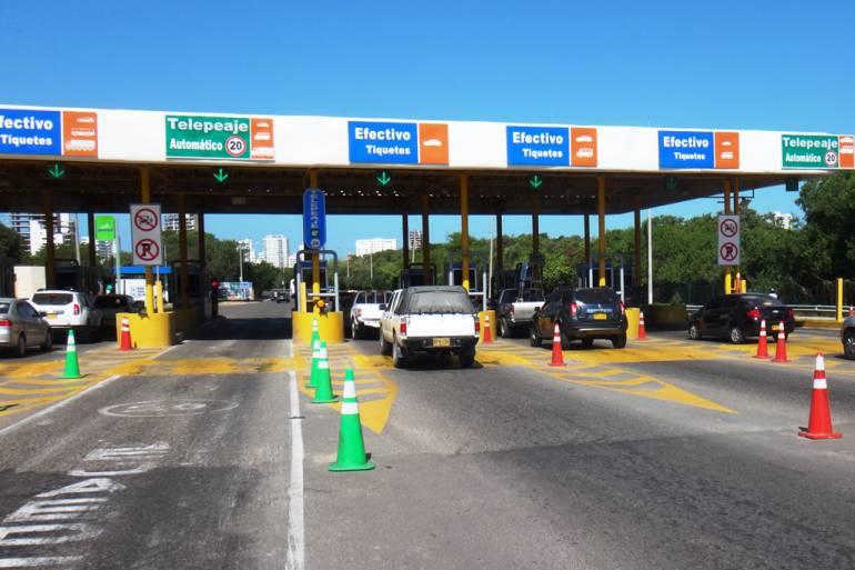 Solicitan a Auditoría General definir continuidad de peajes de Cartagena: Solicitan a Auditoría General definir continuidad de peajes de Cartagena