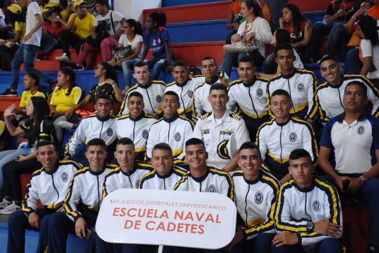 Escuela Naval participa en juegos Distritales Universitarios de Cartagena: Escuela Naval participa en juegos Distritales Universitarios de Cartagena
