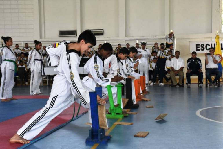 I Copa Escuela Naval de Cadetes de Cartagena de esgrima y taekwondo: I Copa Escuela Naval de Cadetes de Cartagena de esgrima y taekwondo