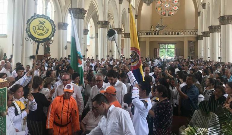 Cenizas padre Alcalde Ibagué: En Líbano fueron trasladadas cenizas del padre del Alcalde de Ibagué