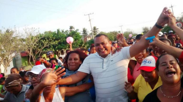 Salomón Castro Cantillo sigue siendo el alcalde de Santa Catalina Bolívar: Salomón Castro Cantillo sigue siendo el alcalde de Santa Catalina Bolívar