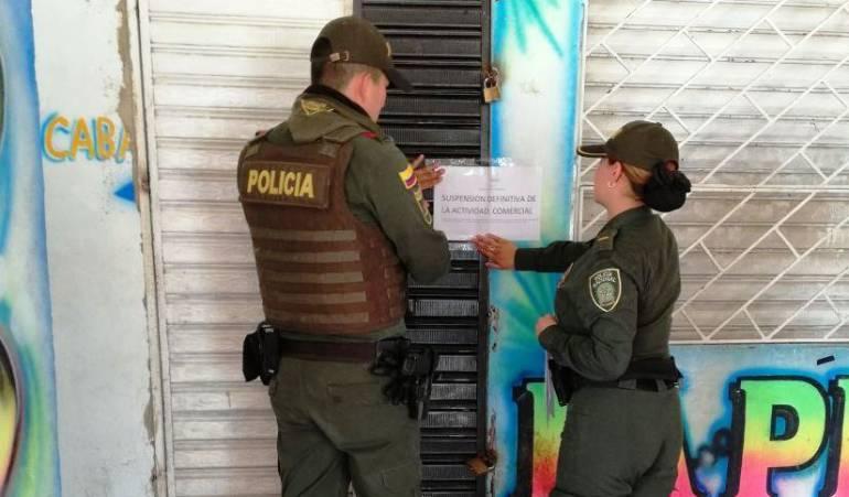Cierre de establecimientos Arjona Bolívar: Por altos volúmenes, cierran establecimiento comercial en Arjona Bolívar