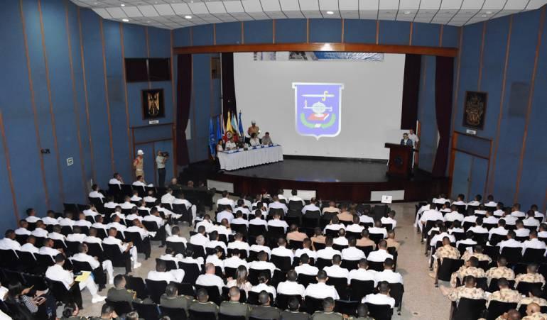 Escuela de cadetes, capacitación en Cartagena: Jornada en Escuela Naval de Cadetes: corrupción, riesgos y cómo combatirla