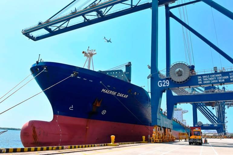 Cartagena, puertos marítimos: Cartagena, puente de conexión con los Estados Unidos y centroamérica