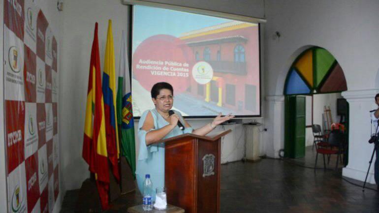 Mayor de Bolívar gestión Cartagenera: Audiencia pública de rendición de cuentas del ColMayor Bolívar