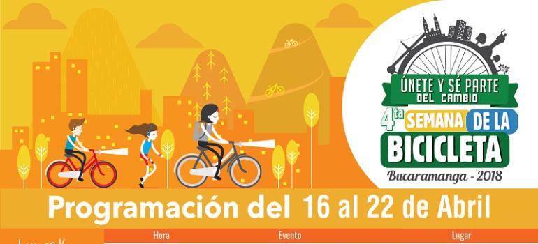 BICICLETA CULTURA NOTICIAS AMBIENTALES CICLO-PASEOS: Estamos en la 4ta semana de la bicicleta en Bucaramanga