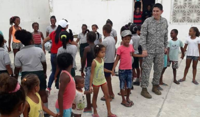 Tierra Bomba Bolívar: Se realiza Jornada de Apoyo al Desarrollo en Tierra Bomba Bolívar