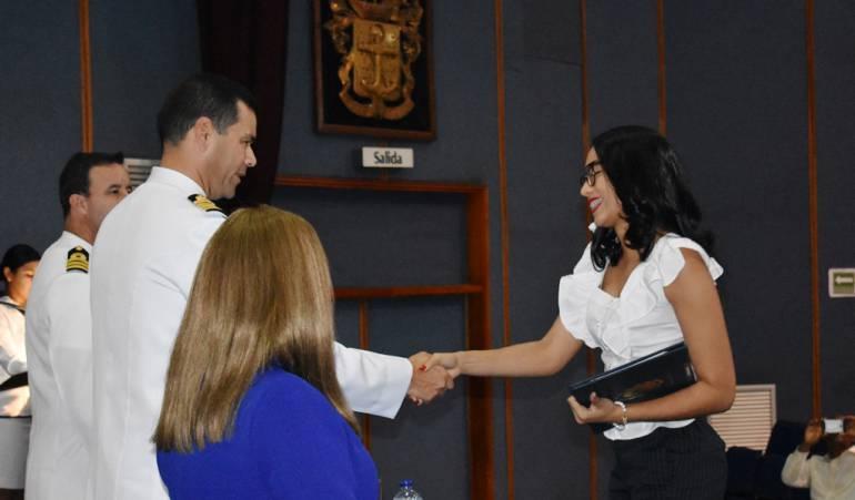 Escuela almirante padilla entrega títulos de posgrados: La Escuela Naval de Cadetes, entrega 35 títulos de posgrado en Cartagena