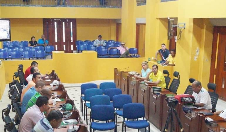 Política en Cartagena, Consejo Distrital: Concejo de Cartagena aplaza debate sobre crédito en la administración Vélez