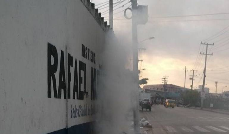 Falta de aseo en colegios de Cartagena: Piden declarar emergencia sanitaria en colegios de Cartagena