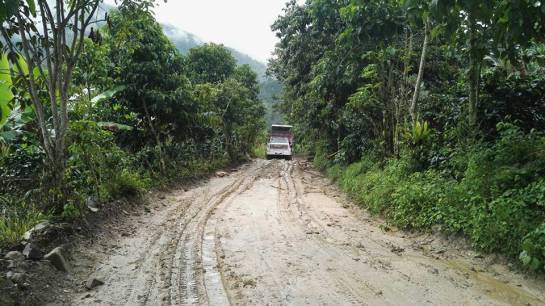 Invierno en Colombia: Emergencia en varias vías del Tolima por el invierno