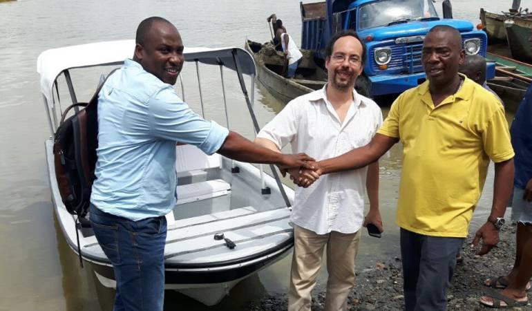 Cooperación Española donó embarcación a la empresa Aguas Del Chocó