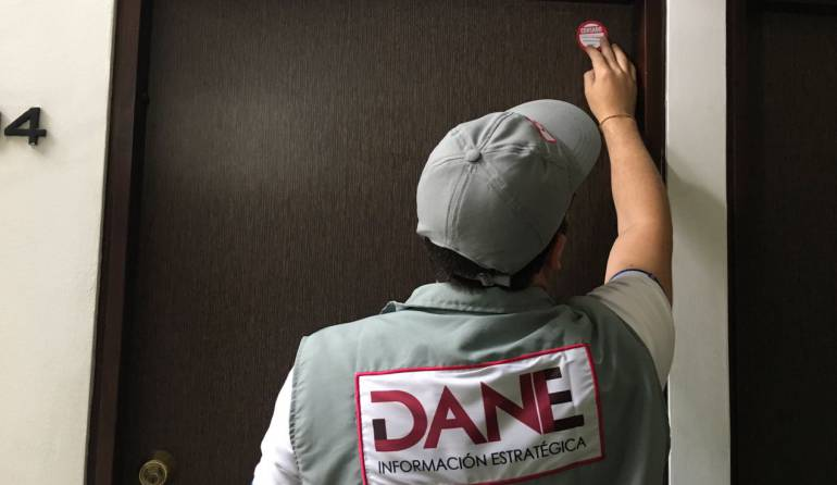 CENSO, DANE, ENCUESTA,: Comienza el censo casa a casa en Bucaramanga