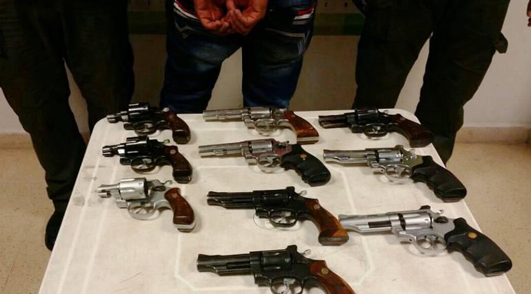 Aseguran, supuestos, delincuentes, por, armas, fuego, drogas: Aseguran a supuestos delincuentes por guardar armas de fuego y drogas