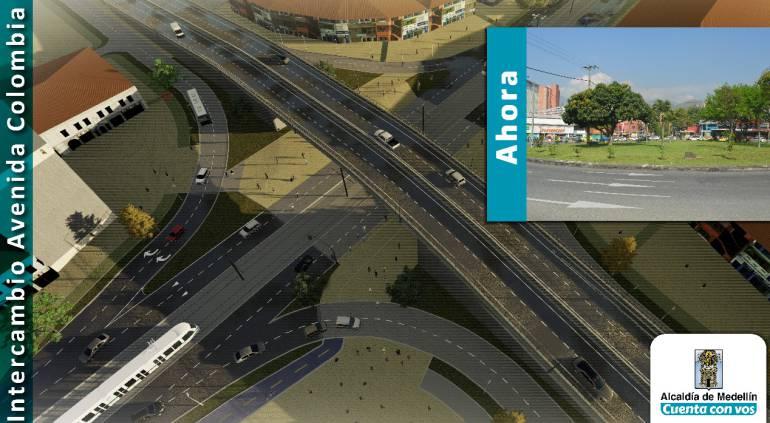 Alcaldía, Medellín, construirá, cuatro, intercambios, viales, en, carrea, 8: Alcaldía de Medellín construirá cuatro intercambios viales en la carrera 80