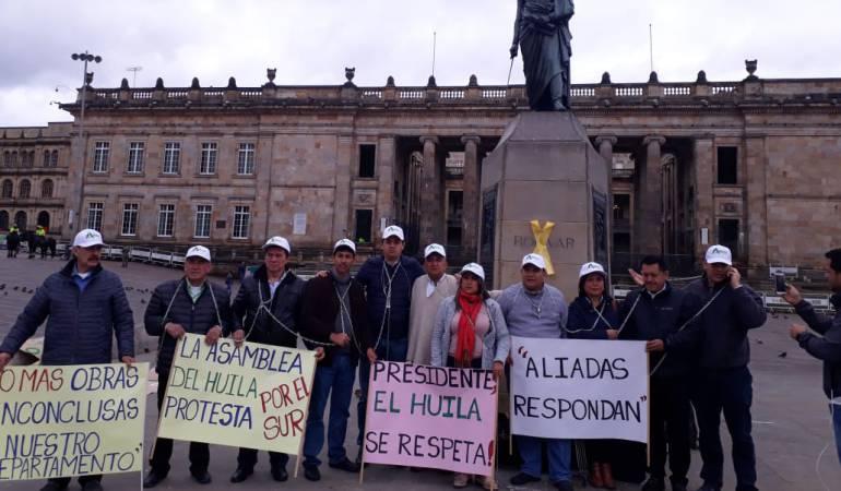 Diputados en Protesta