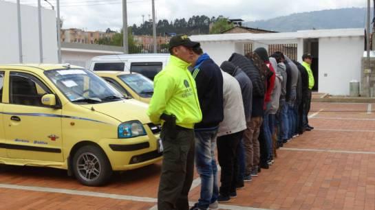 Capturaron 15 jíbaros que vendían drogas a domicilio en Duitama, Boyacá: Capturaron 15 jíbaros que vendían drogas a domicilio en Duitama, Boyacá