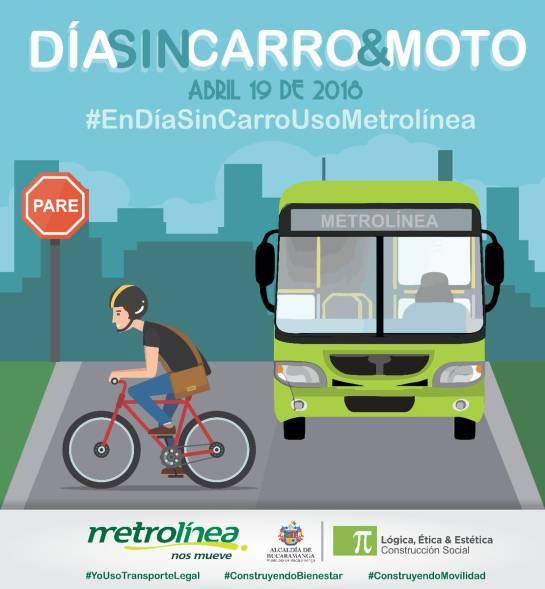 BUCARAMANGA DÍA SIN CARRO BICICLETA ALCALDÍA: Jueves sin carros ni motos en Bucaramanga y Barrancabermeja