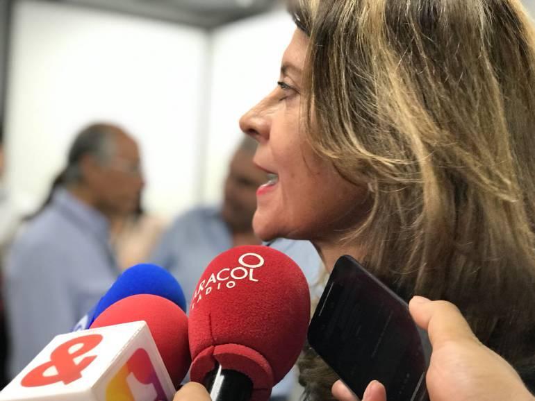 """Política, elecciones presidenciales Colombia: Partido conservador lo están """"dividiendo y estrujando"""": Marta Lucía Ramírez"""