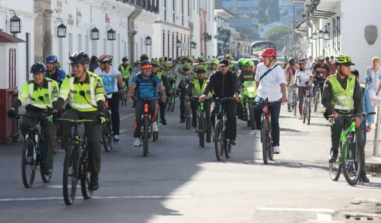 Día sin carro y motos en Popayán
