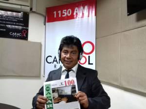 Alber Deylan periodista y gestor cultural y director de la revista cultural Punto Aparte