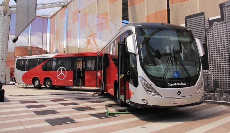 Nuevos buses del Transmilenio