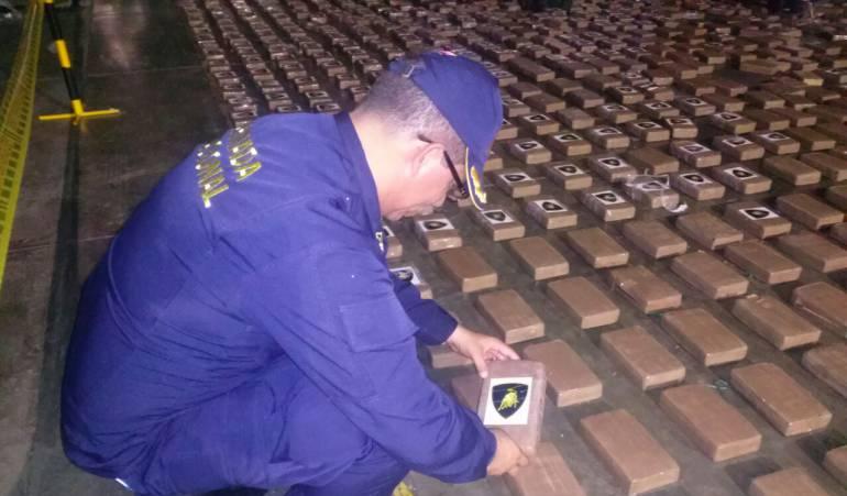 operativos narcotrafico: Incautadas 5 toneladas de cocaína en el pacifico