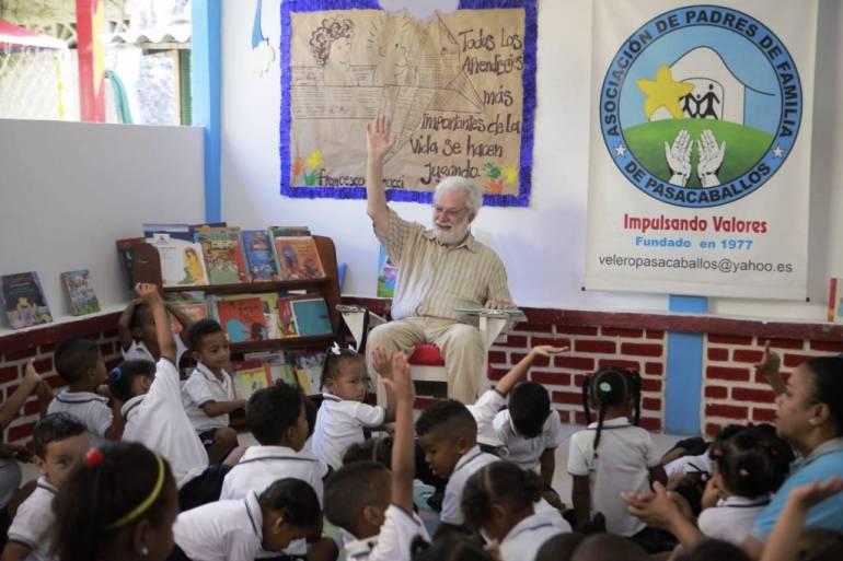 Campañas pedagógicas en Cartagena: Promoviendo la educación, llega a Cartagena el italiano Francesco Tonucci