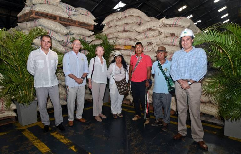 De Cartagena saldrán 2 toneladas de café sembradas por indígenas del Cauca