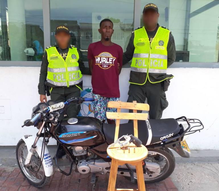 89 motos inmovilizadas en operativos de la Policía de Cartagena